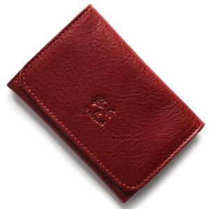 イルビゾンテ IL BISONTE カードケース スタンダード STANDARD ルビーレッド C0470 P 245 メンズ レディース