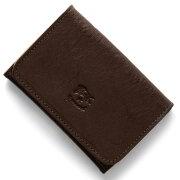 イルビゾンテ IL BISONTE カードケース スタンダード STANDARD モカブラウン C0470 P 455 メンズ レディース