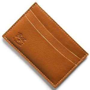 イルビゾンテ IL BISONTE カードケース スタンダード STANDARD キャラメルブラウン C0567 P 145 メンズ レディース