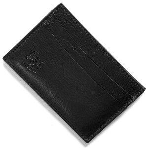 イルビゾンテ IL BISONTE カードケース スタンダード STANDARD ブラック C0567 P 153 メンズ レディース