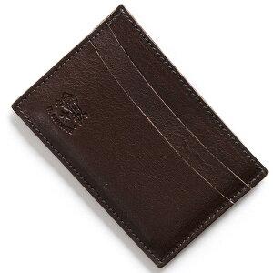 イルビゾンテ IL BISONTE カードケース スタンダード STANDARD モカブラウン C0567 P 455 メンズ レディース