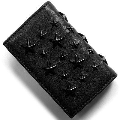 ジミーチュウ JIMMY CHOO カードケース ネロ NELLO ブラック NELLO ENL BLK 2018年春夏新作 メンズ レディース