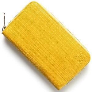 ロエベ LOEWE カードケース/コインケース【小銭入れ】 CREMALLERA LINEN イエロー 101 P31 88 8100 レディース