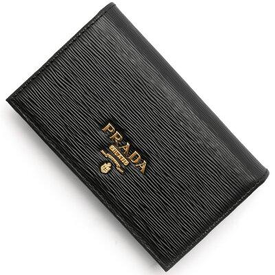 プラダ カードケース レディース サフィアーノ ムーヴ SAFFIANO MOVE ブラック 1MC122 2EZZ F0002 PRADA