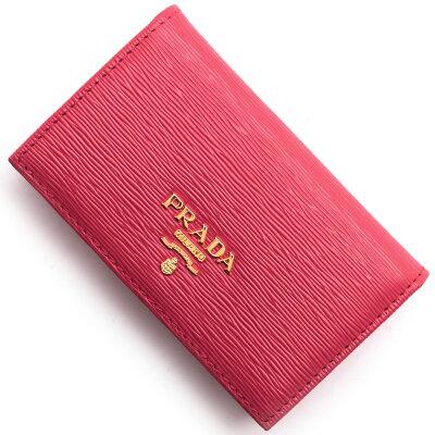 プラダ PRADA カードケース SAFFIANO MOVE ペオニアピンク 1MC122 2EZZ F0505 レディース