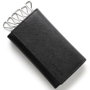 プラダ PRADA キーケース SAFFIANO ブラック 2PG222 053 F0002 メンズ