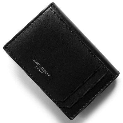 サンローランパリ カードケース メンズ レディース フラグメント FRAGMENTS ブラック 485058 D434N 1000 SAINT LAURENT PARIS