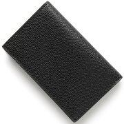 ヴァレクストラ VALEXTRA カードケース ブラック V8L03 028 N メンズ レディース