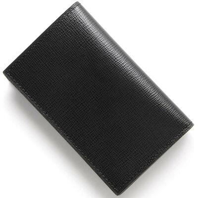 ヴァレクストラ VALEXTRA カードケース ブラック V8L03 044 N メンズ レディース