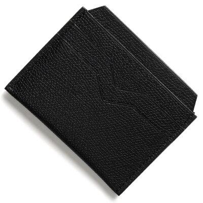 ヴァレクストラ VALEXTRA カードケース ブラック V8L77 028 N メンズ