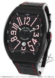 フランクミュラー FRANCK MULLER 腕時計 ヴァンガード クロコレザー メンズ V 45 SC DT
