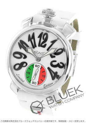 ガガミラノ GaGa MILANO 腕時計 マヌアーレ48MM 限定299本 メンズ 5010.LE.IT.LEAGUE.02