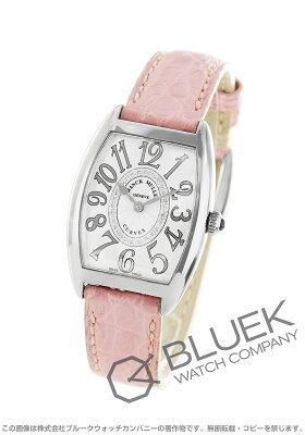 フランクミュラー FRANCK MULLER 腕時計 トノーカーベックス レリーフ ダイヤ クロコレザー レディース 1752 B QZ REL CD 1R