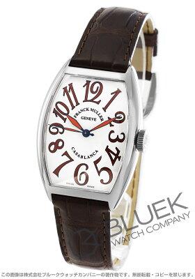 フランクミュラー FRANCK MULLER 腕時計 カサブランカ サハラ クロコレザー メンズ 5850 H CASA SHR