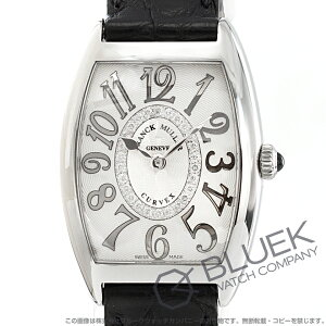 フランクミュラー トノーカーベックス レリーフ ダイヤ クロコレザー 腕時計 レディース FRANCK MULLER 1752 M QZ REL CD 1R