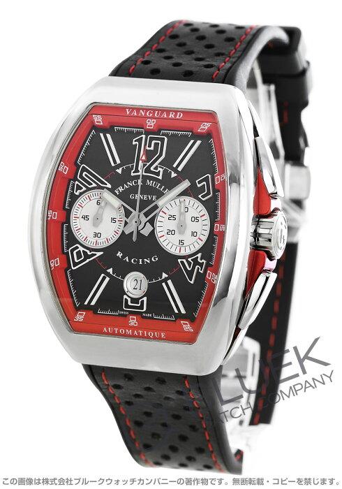 フランクミュラー ヴァンガード レーシング クロノグラフ 腕時計 メンズ FRANCK MULLER V 45 CC DT RCGAC ER[FMV45CCRCGPLSSRDBKLZBK]