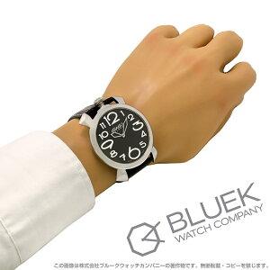 ガガミラノ マヌアーレ シン46MM リザードレザー 腕時計 メンズ GaGa MILANO 5090.11