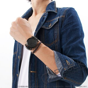 ガガミラノ マヌアーレ シン46MM リザードレザー 腕時計 ユニセックス GaGa MILANO 5092.05