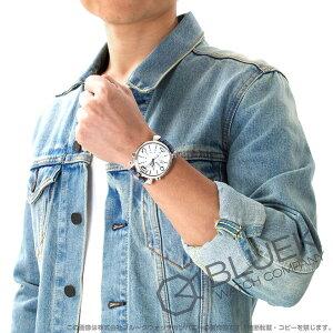 ガガミラノ シン クロノ46MM クロノグラフ リザードレザー 腕時計 メンズ GaGa MILANO 5097.02BL