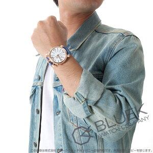 ガガミラノ シン クロノ46MM クロノグラフ リザードレザー 腕時計 メンズ GaGa MILANO 5098.01BT