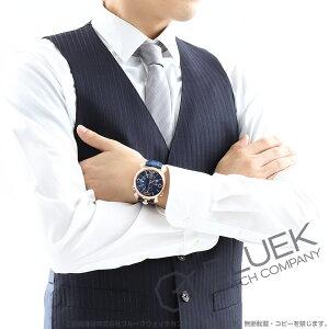 ガガミラノ シン クロノ46MM クロノグラフ リザードレザー 腕時計 メンズ GaGa MILANO 5098.04