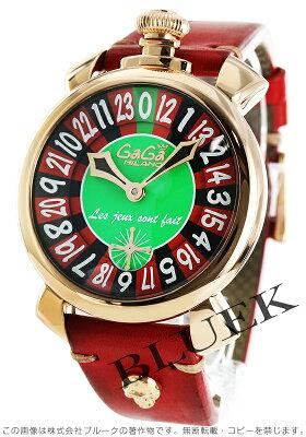 ガガミラノ マヌアーレ48MM ラスベガス 世界限定500本 腕時計 メンズ GaGa MILANO 5011.LAS VEGAS