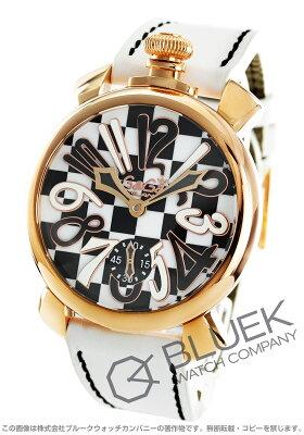 ガガミラノ マヌアーレ48MM 世界限定299本 腕時計 メンズ GaGa MILANO 5011.LE.CH.01