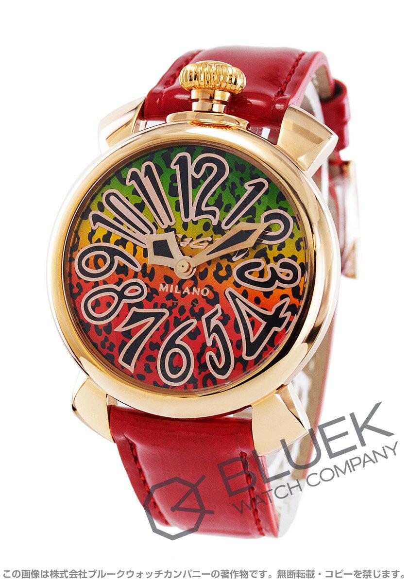 40d7cada92 ガガミラノ マヌアーレ40MM アニマーレ 限定500本 腕時計 ユニセックス GaGa MILANO 5021 ART 01