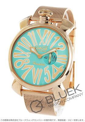 ガガミラノ スリム46MM ホノルル限定300本 腕時計 ユニセックス GaGa MILANO 5081.LEHO.2 S