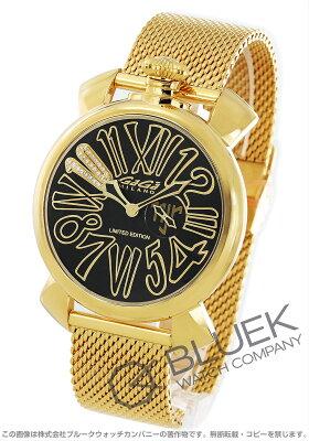 ガガミラノ スリム46MM ネイマールモデル 世界限定110本 ダイヤ 腕時計 メンズ GaGa MILANO 5083.NJ.02D