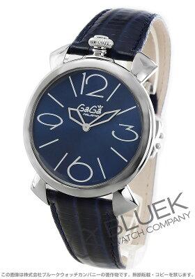 ガガミラノ マヌアーレ シン46MM リザードレザー 腕時計 ユニセックス GaGa MILANO 5090.04