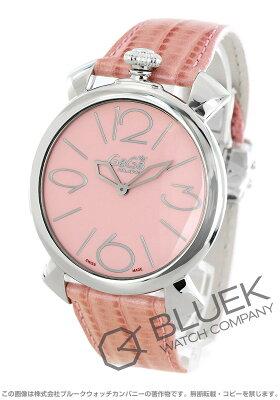 ガガミラノ マヌアーレ シン46MM リザードレザー 腕時計 レディース GaGa MILANO 5090.05