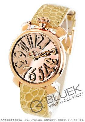 ガガミラノ マヌアーレ40MM ミラー 世界限定500本 腕時計 ユニセックス GaGa MILANO 5221.MIR.01