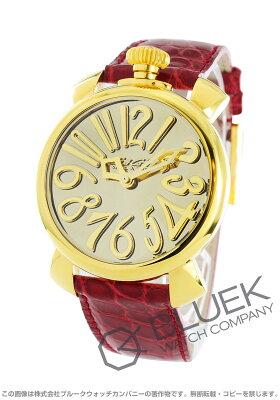 ガガミラノ マヌアーレ40MM ミラー 世界限定500本 腕時計 ユニセックス GaGa MILANO 5223.MIR.01