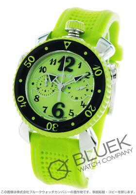 ガガミラノ クロノ スポーツ45MM クロノグラフ 腕時計 メンズ GaGa MILANO 7010.07