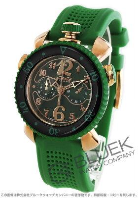 ガガミラノ クロノ スポーツ45MM クロノグラフ 腕時計 メンズ GaGa MILANO 7011.02