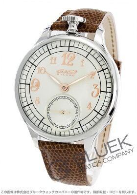 ガガミラノ シルバー 限定250本 リザードレザー 腕時計 メンズ GaGa MILANO 7040.1