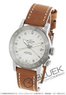 グライシン GLYCINE 腕時計 エアマン ワールドタイマー メンズ GL0055