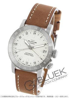 グライシン GLYCINE 腕時計 エアマン ワールドタイマー メンズ GL0058