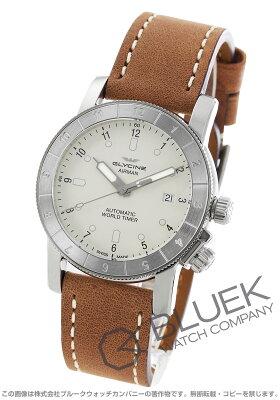 グライシン GLYCINE 腕時計 エアマン ワールドタイマー メンズ GL0061