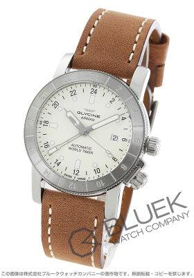 グライシン GLYCINE 腕時計 エアマン ワールドタイマー メンズ GL0067