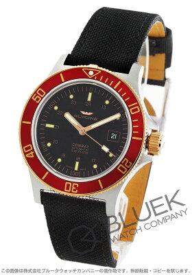 グライシン GLYCINE 腕時計 コンバット サブ キャンパスレザー メンズ GL0092