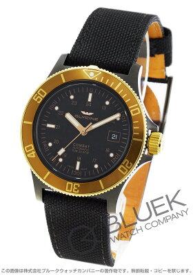 グライシン GLYCINE 腕時計 コンバット サブ キャンパスレザー メンズ GL0093