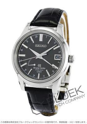 グランドセイコー GRAND SEIKO 腕時計 9Rスプリングドライブ クロコレザー メンズ SBGE027