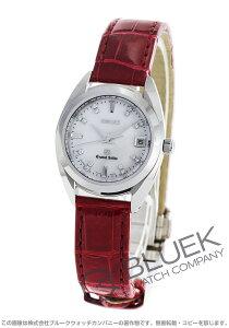 グランドセイコー GRAND SEIKO 腕時計 ダイヤ クロコレザー レディース STGF087