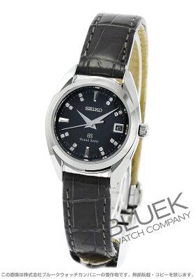 グランドセイコー GRAND SEIKO 腕時計 ダイヤ クロコレザー レディース STGF089