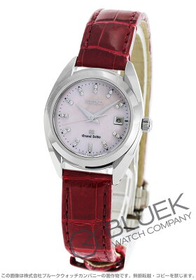 グランドセイコー GRAND SEIKO 腕時計 ダイヤ クロコレザー レディース STGF095