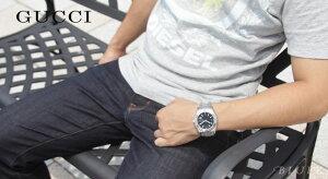 グッチ パンテオン 300m防水 腕時計 メンズ GUCCI YA115211