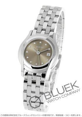 グッチ Gクラス ダイヤ 腕時計 レディース GUCCI YA055523