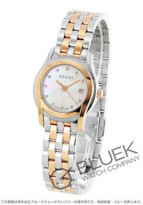 グッチ GUCCI 腕時計 Gクラス ダイヤ レディース YA055535